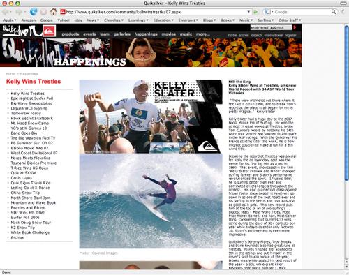 Quiksilver_homepage